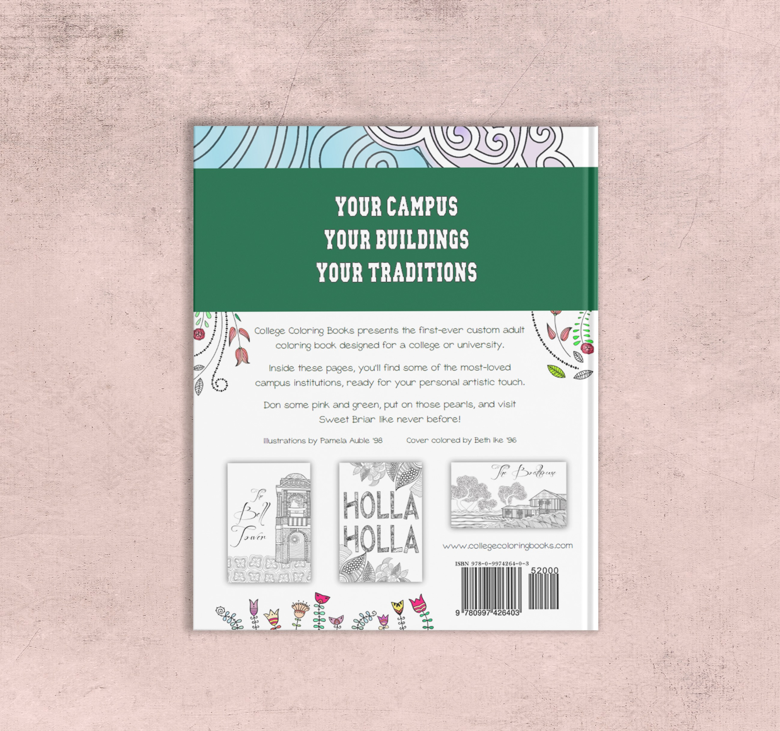 College Coloring Books Sweet Briar Book Cover