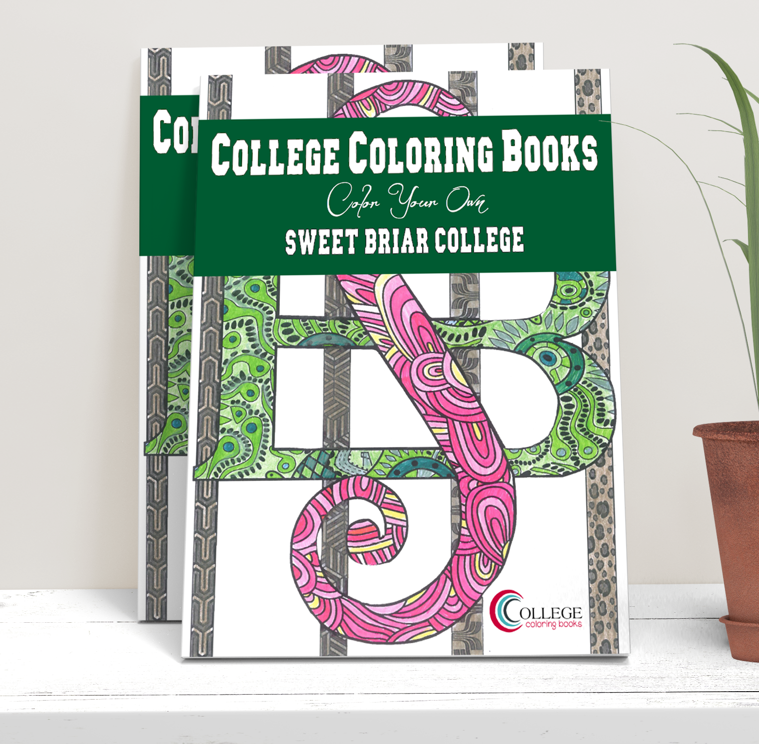 College Coloring Books Sweet Briar College