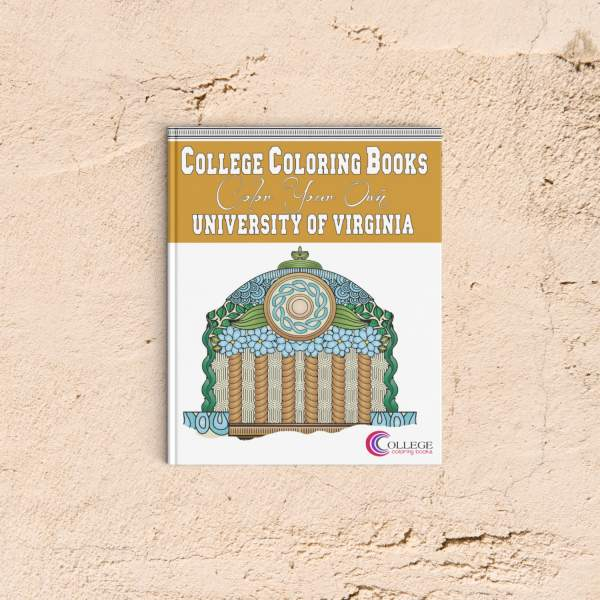 College Coloring Books Color Your Own University of Virginia Coloring Book