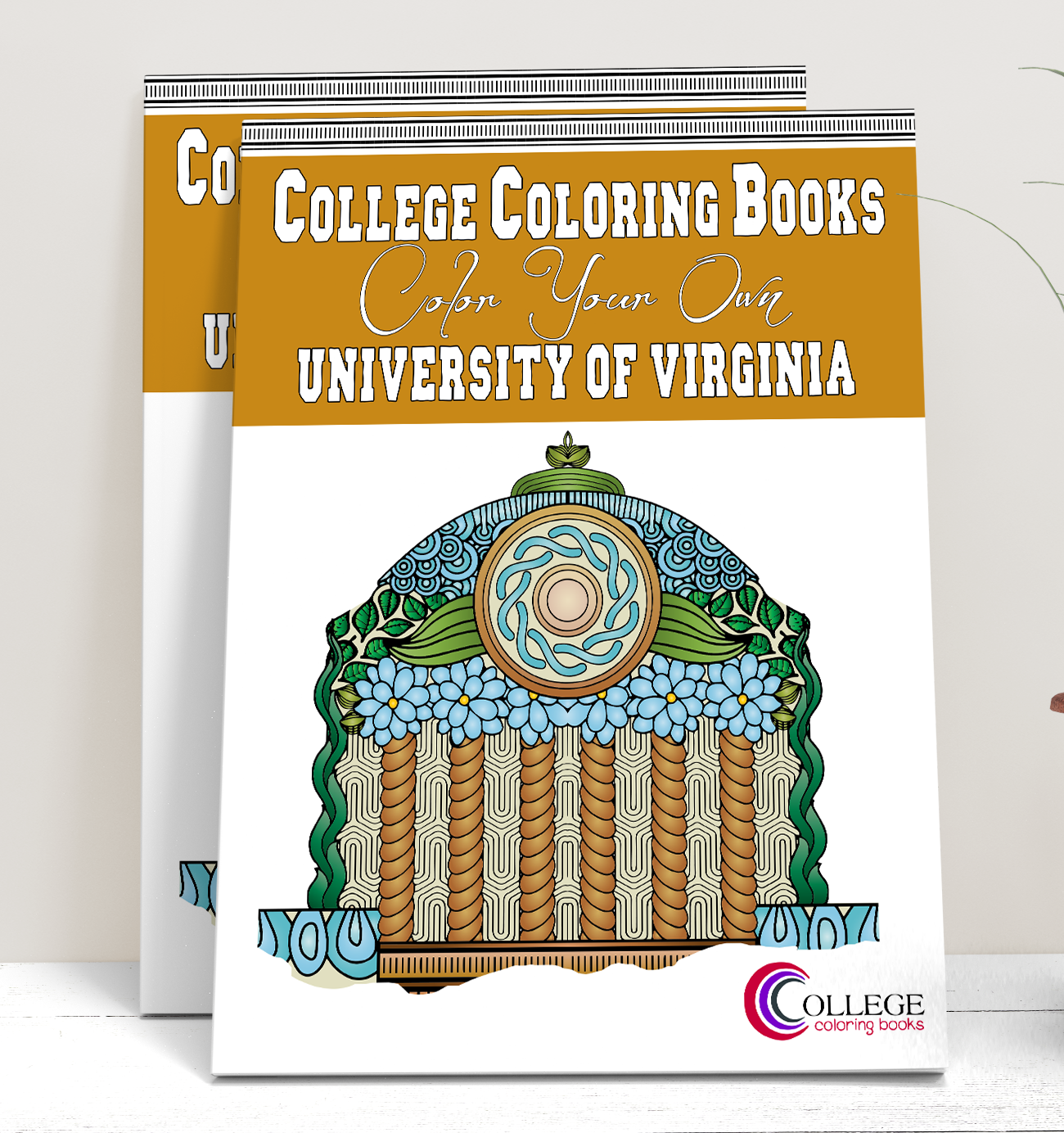 College Coloring Books UVA