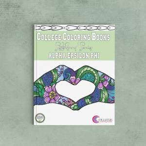 College Coloring Books Alpha Epsilon Phi Coloring Book