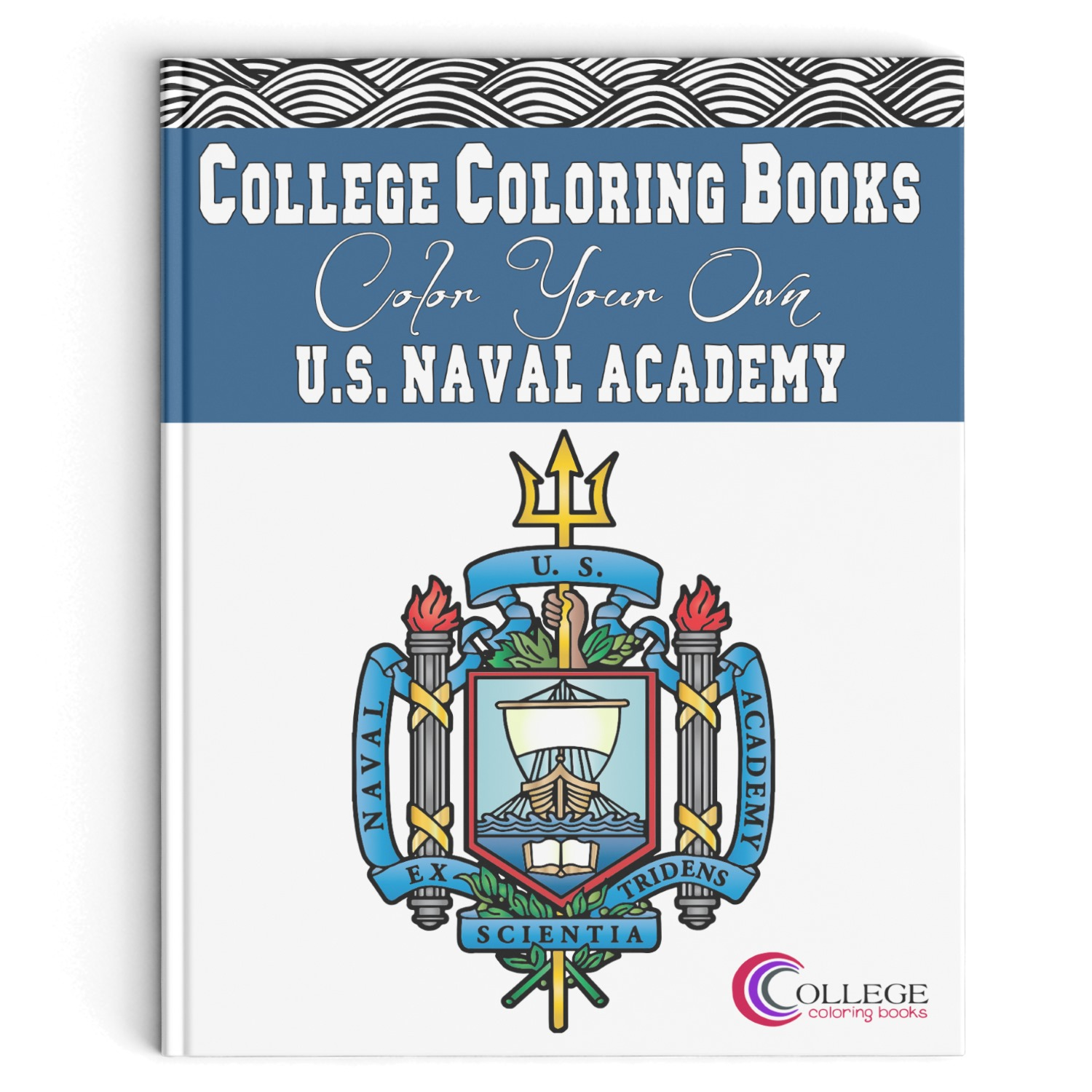 College Coloring Books US Naval Academy Coloring Book