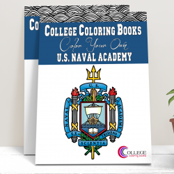 College Coloring Books US Naval Academy