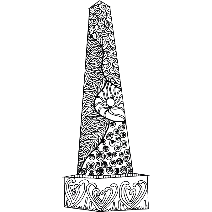 Herndon Monument Naval Academy Coloring Book