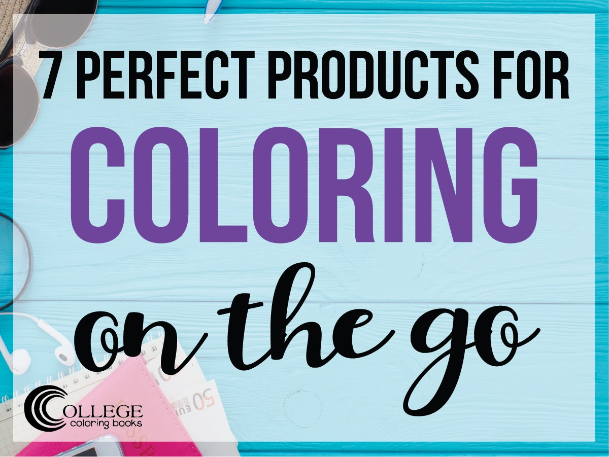 College Coloring Books 7 Perfect Products for Coloring on the Go Facebook