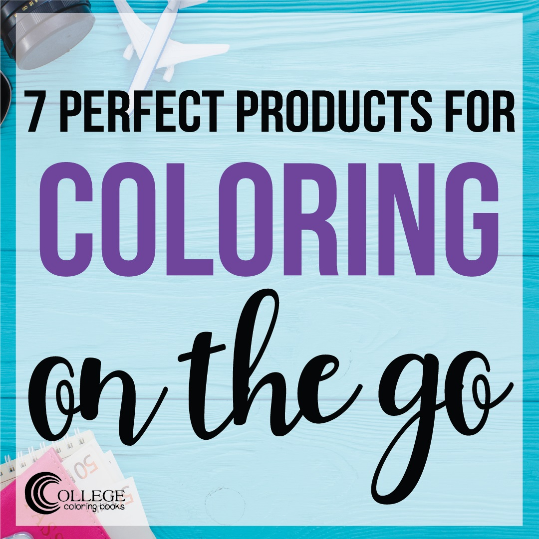 College Coloring Books 7 Perfect Products for Coloring on the Go Instagram