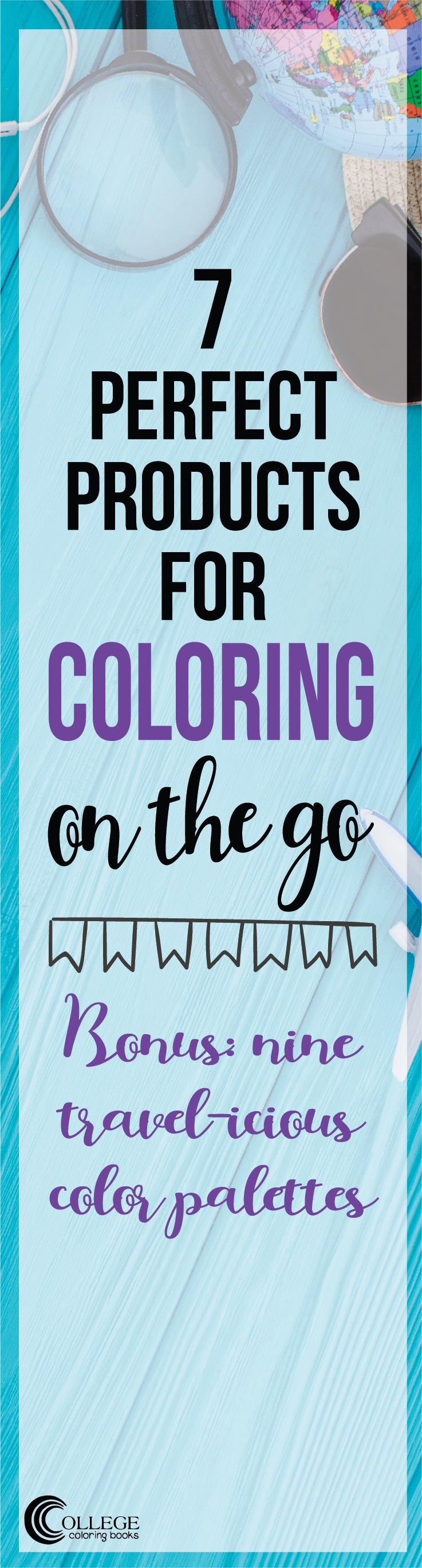 College Coloring Books 7 Perfect Products for Coloring on the Go Pinterest Long Pin