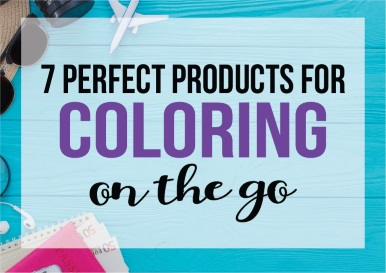 College Coloring Books 7 Perfect Products for Coloring on the Go Related Blog Posts