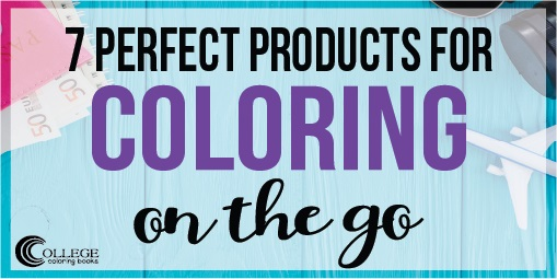 College Coloring Books 7 Perfect Products for Coloring on the Go Twitter