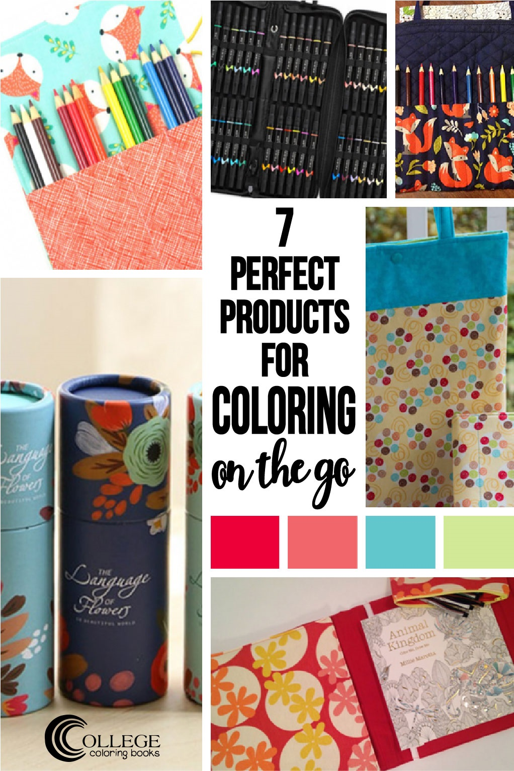7 perfect products for coloring on the go