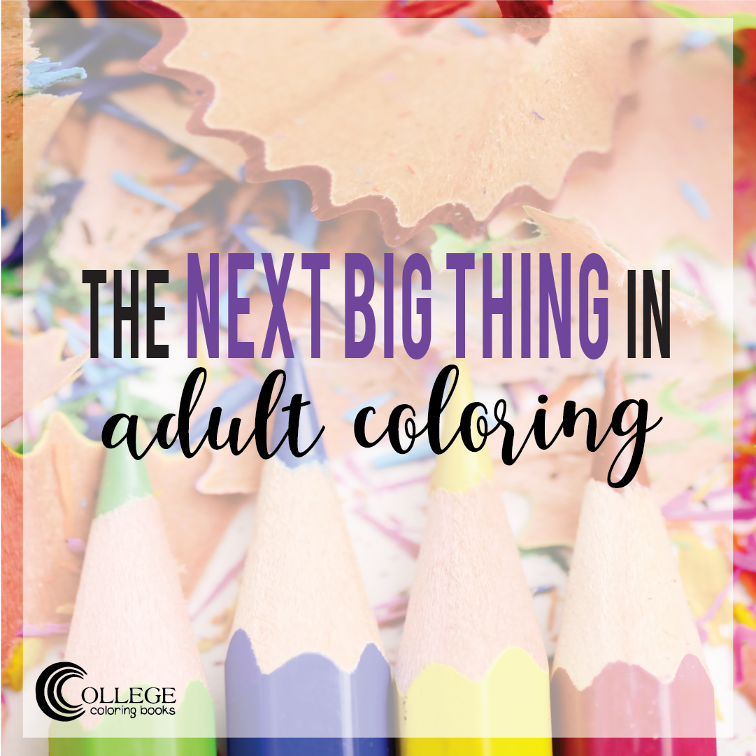 College Coloring Books The Next Big Thing In Adult Instagram