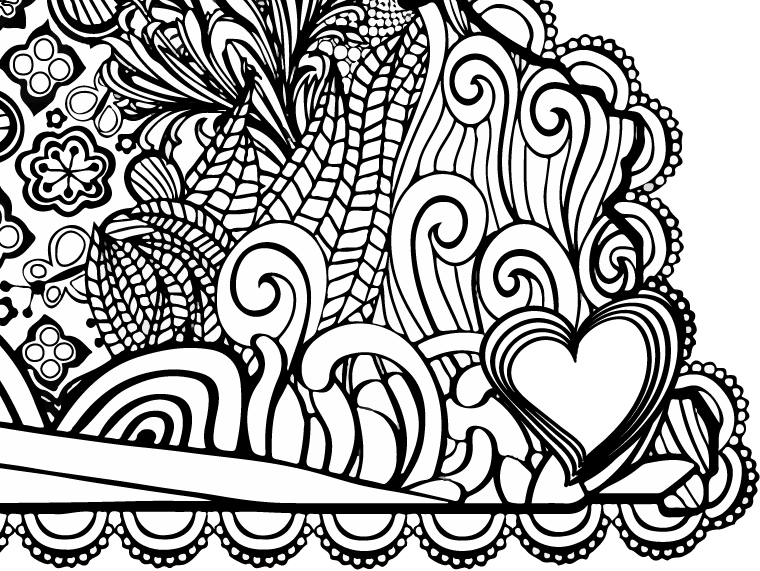 I Heart Virginia Hampton Roads Coloring Page