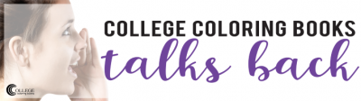 College Coloring Books Talks Back to Adam Carolla