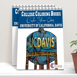 College Coloring Books University of California Davis
