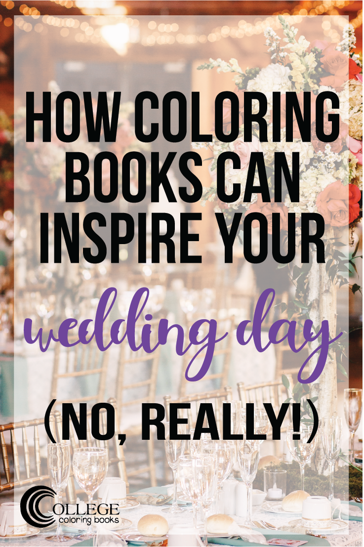 College Coloring Books Coloring Wedding Pinterest
